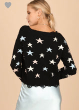 Tyra Sweater-Black Multi