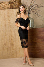 FINAL SALE Caroline Lace Midi Dress