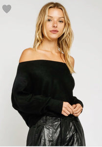 Sherrie Sweater- Black