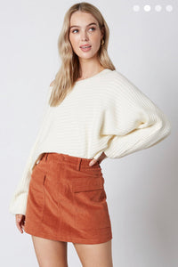 FINAL SALE Freya Skirt- Rust