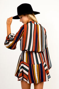 FINAL SALE Emmy Striped Dress