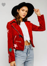 Simone Jacket- Red