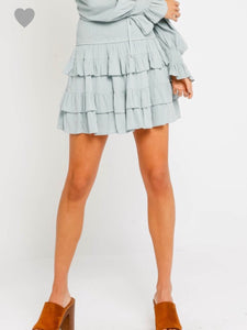 Sierra Skirt-Blue