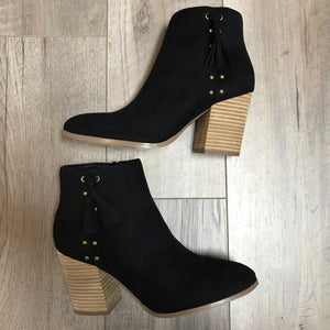 Katy Bootie- Black