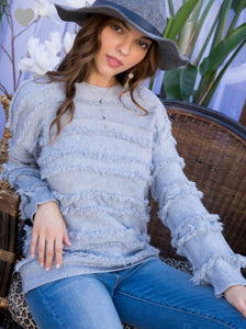 Evy Sweater- Grey