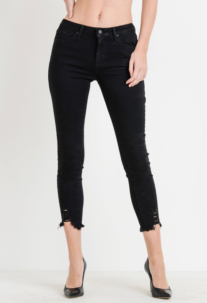 Stephanie Jeans- Black