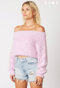 Avery Sweater- Lilac