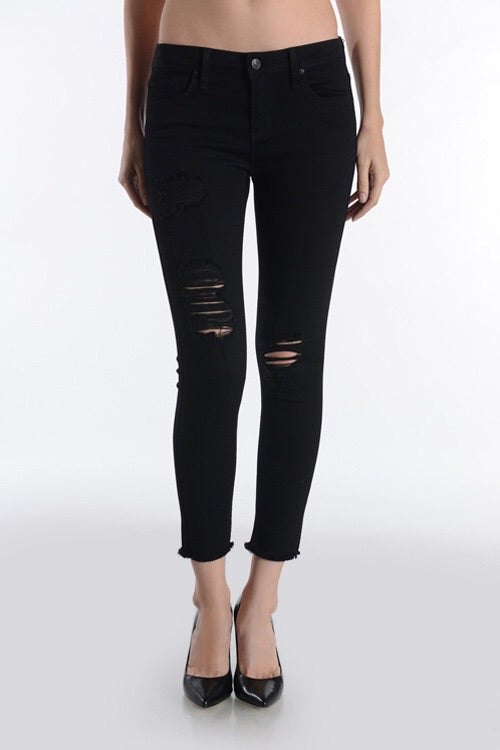 Dylan Distressed Jeans- Black