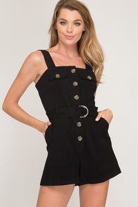 Jennifer Romper- Black