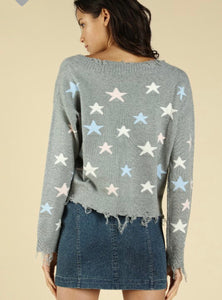 Tyra Sweater- Gray