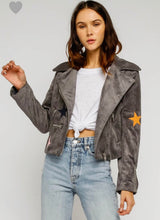 Simone Jacket-Grey