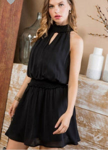 FINAL SALE Ariella Dress- Black