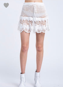 Nikki Crochet Skirt