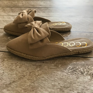 Brooke Bow Slip Ons