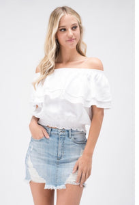 FINAL SALE Oakley Off the Shoulder Top
