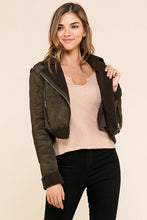 FINAL SALE Kate Jacket- Olive
