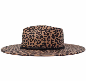 Betty Hat- Leopard
