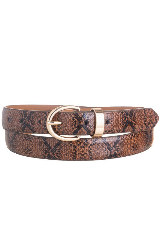 Lori Belt- Brown Snake