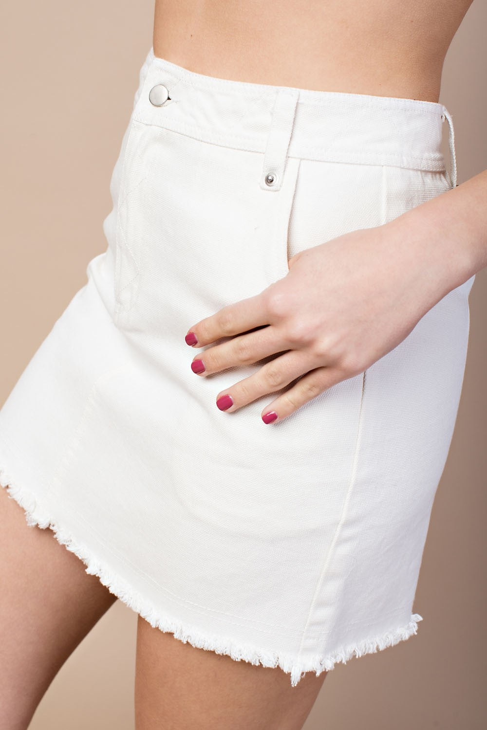 FINAL SALE Lyza High-Waisted Skirt