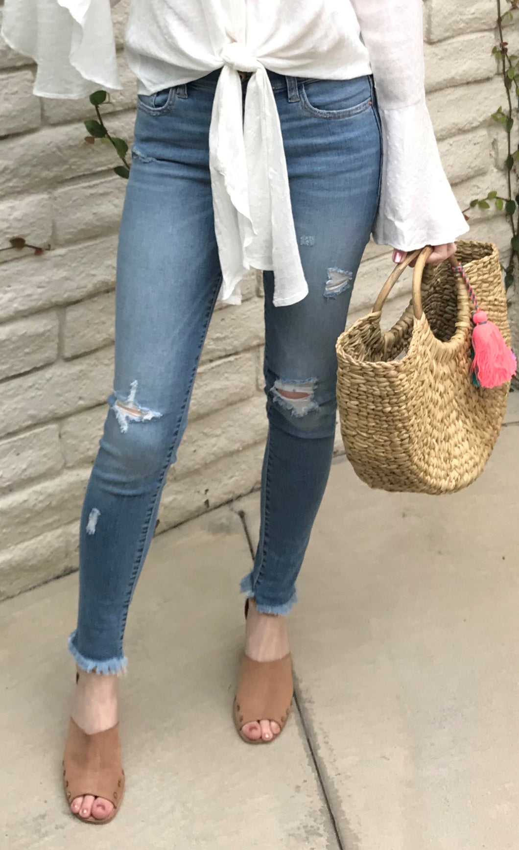 Kerry Distressed Jeans