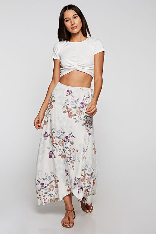 FINAL SALE Whitney Wrap Skirt