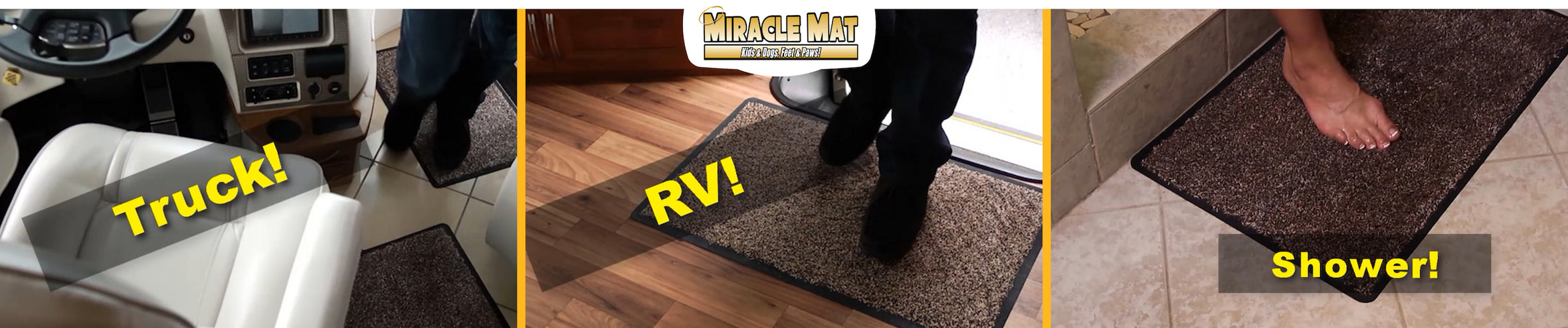 Miracle Mat - Truck, RVs, Showers - it does it all!
