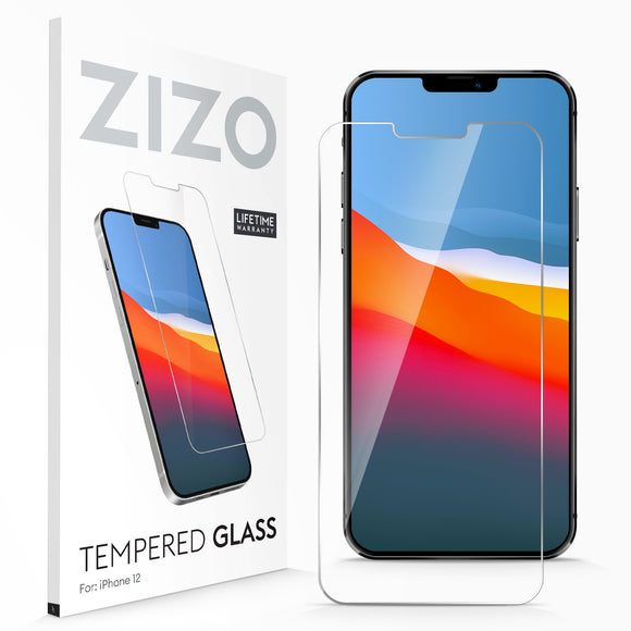 ZIZO TEMPERED GLASS Screen Protector for iPhone 12 - Clear