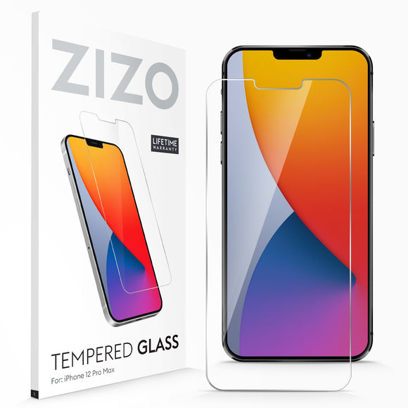 ZIZO TEMPERED GLASS Screen Protector for iPhone 12 Pro Max - Clear
