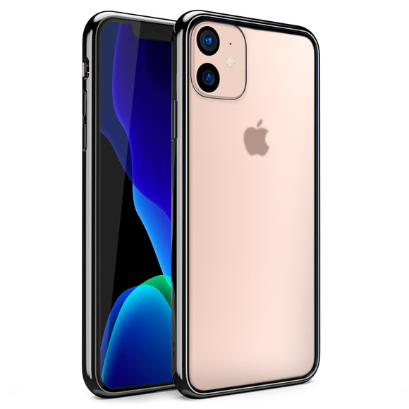 ZIZO REFINE Series iPhone 11 (2019) Case - Ultra Slim (Black/Clear)