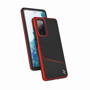 ZIZO DIVISION Series Galaxy S20 FE Case - Black & Red