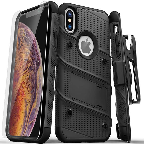 Zizo Bolt Series iPhone X / XS - Black/Black
