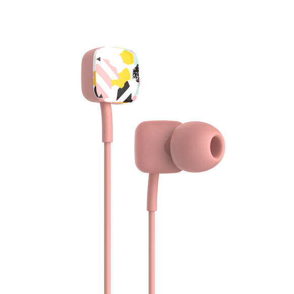 HAVIT E58P Wired In-Ear Headphones Universal 3.5mm - Pope Pink