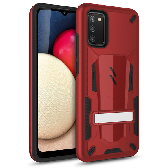 ZIZO TRANSFORM Series Galaxy A02s Case - Red