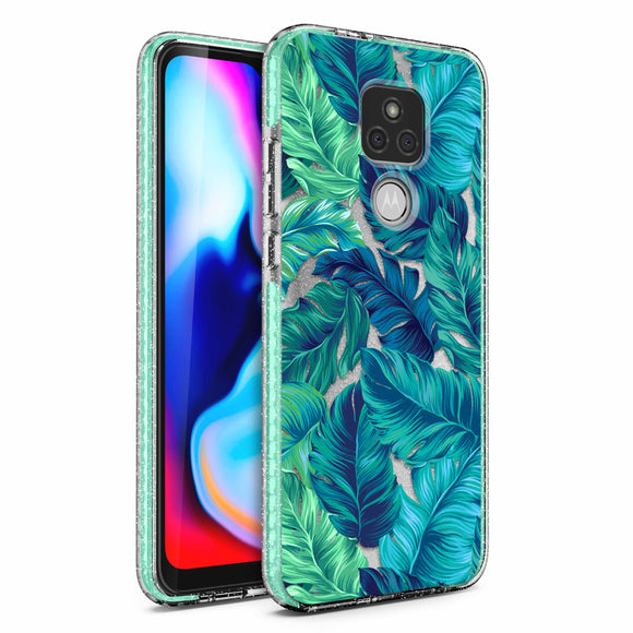 ZIZO DIVINE Series Moto G Play (2021) Case - Tropical