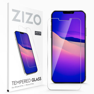 ZIZO TEMPERED GLASS Screen Protector for iPhone 12 Max / iPhone 12 Pro - Clear