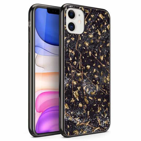 ZIZO REFINE Series iPhone iPhone 11 (2019) Case - Ultra Slim (Black Marble)