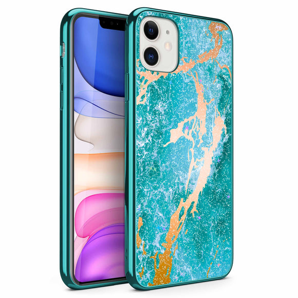 ZIZO REFINE Series iPhone 11 (2019) Case - Ultra Slim Thin Case (Oceanic)