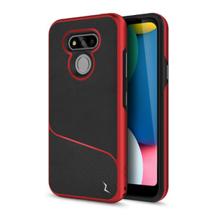 ZIZO DIVISION Series LG Fortune 3 Case - Black & Red