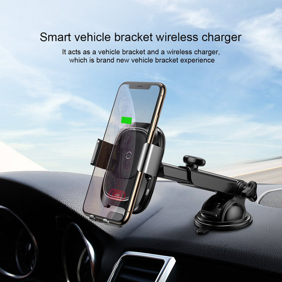 Baseus Smart Vehicle Bracket Wireless Charger -