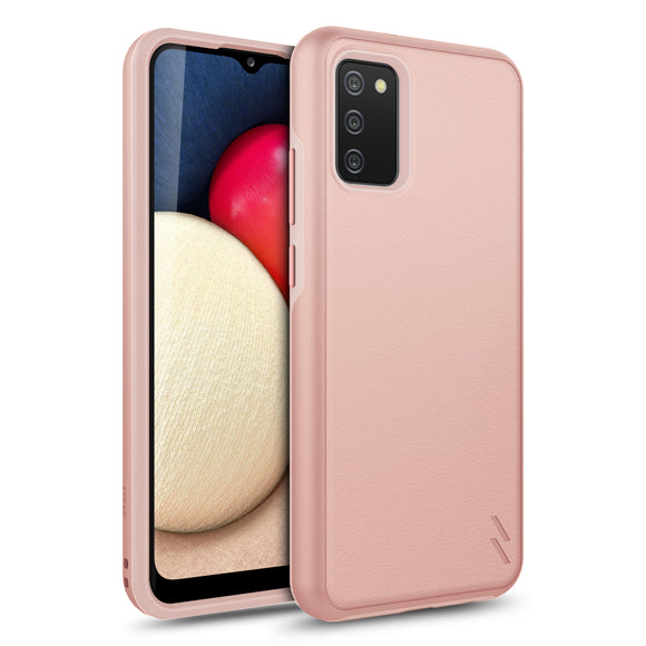 ZIZO REALM Series Galaxy A02s Case - Rose Gold