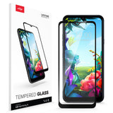 ZIZO TEMPERED GLASS Screen Protector for LG Harmony 4 - Black