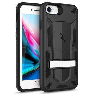 ZIZO TRANSFORM Series iPhone 8  iPhone 7, iPhone 6s Case - Black & Black