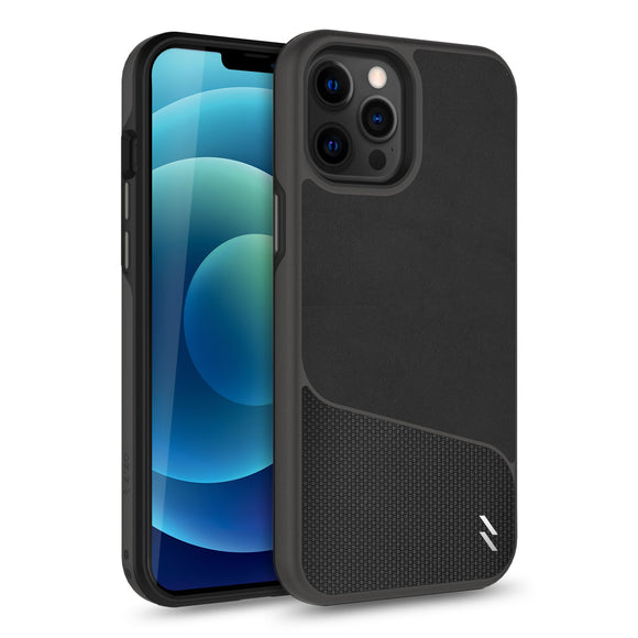 ZIZO DIVISION Series iPhone 12 / iPhone 12 Pro Case - Nylon Black