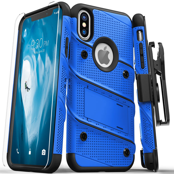 Zizo Bolt Series iPhone X / XS - Blue/Black