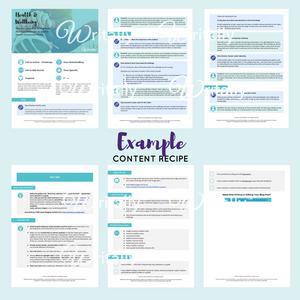 Personal Experience Case Study Blog Post Template - Theme: Get Set for a B2B Event