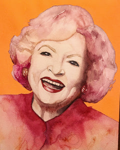 Betty White Limited Edition Print
