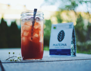 RECIPE - Hibiscus & Berries Iced Mate