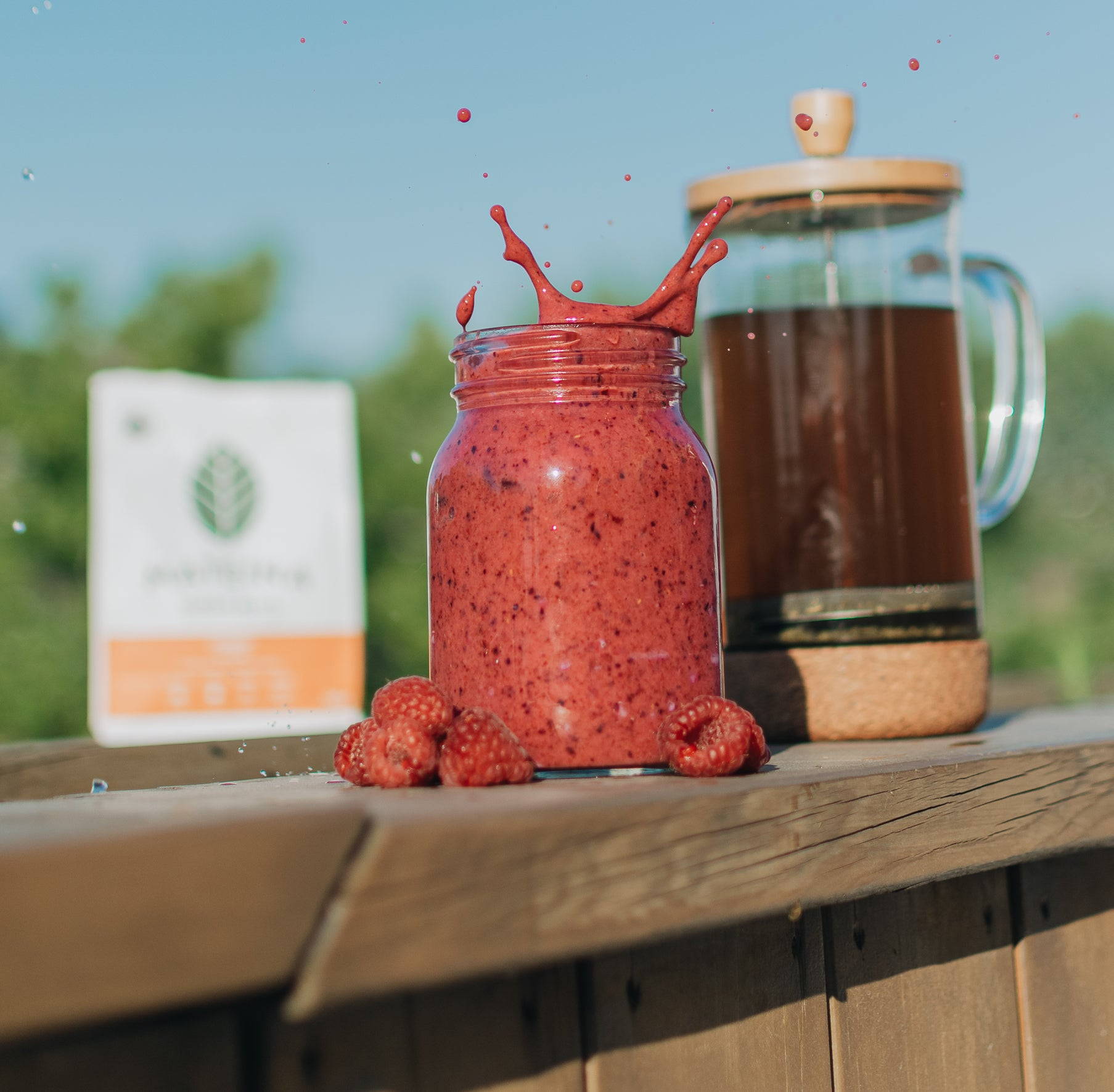 Add Yerba Mate infusion to your smoothie