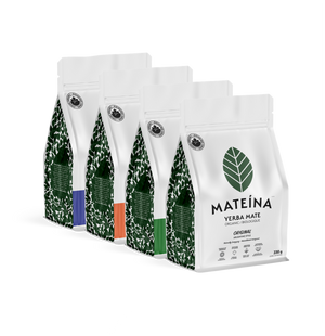 Yerba Mate Tea - Tasting set (4 X 220g)