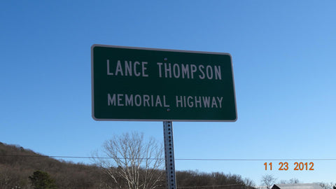 Lance M. Thompson was a United States Marine who was Killed in Action on November 15, 2004. Etherton Hardwoods remembers Lance and all who have laid down there lives for freedom this Memorial Day.